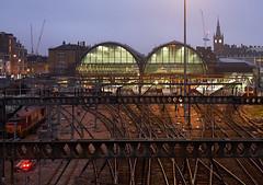 Kings Cross Station (DaveWilliams) Tags: track london londonist st pancras crane