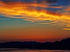 Sunset Colours (Rhodes - Greece) (Cross Process Effect) Olympus OMD EM5 & Panasonic G 35-100mm f2.8 (markdbaynham) Tags: clouds sunset sky colour view landscape cross process rhodes rhodos pefkos greece greek grecia greka island gr hellas hellenic olympus omd em5 csc mirrorless evil mft m43 m43rd micro43 panasonic lumix lumixer 35100mm f28
