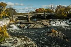 bridge (paul.mackay.1401) Tags: river rivire bridge pont church rock roche rapide nikon d70s fall automne