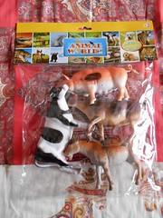 Farm animals (ItalianToys) Tags: toy toys giocattolo giocattoli farm barn mucca toro capra maiale pig animali animals fattoria