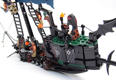 LEGO-Darkevil-06 (Sweeney Todd, the Lego) Tags: lego pirate pirateship zombie zombies ship boat pirates dead darkevil jack sparrow spooky