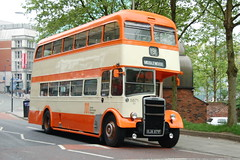 GMPTE Leyland Titan PD3 5871 KJA871F - Manchester (dwb transport photos) Tags: gmpte leyland titan eastlancs preserved bus decker 5871 kja871f manchester