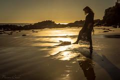 naomi161020-201 (Naomi Creek) Tags: portrait selfportrait selfdiscovery beach sea water sunrise sun morning light sand sandy girl woman alone shore peaceful quiet heal healing rays reflections silhouette skirt