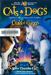 Cats & Dogs (Vernon Barford School Library) Tags: lawrenceguterman johnrequa glennficarra alecbaldwin tobeymaguire jeffgoldblum cats dogs animals animal kitten kittens cat dog puppy puppies pets adventure spy spies action comedy comedies drama beagle beagles vernon barford library libraries new recent video videos film films junior high middle school covers cover videocase videocases dvd dvds dvdcase dvdcases fiction fictional movie movies motionpicture motionpictures dogscats catsdogs