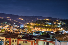 Cosenza - Old City At Night (soma_original) Tags: cosenza calabria italy italia city oldcity lights night exposure southitaly centrostorico stars starry stelle buildings moonlight longexposure lungaesposizione città streets panorama panoramic view