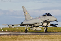 Royal Air Force, Typhoon FGR4, ZK330. (M. Leith Photography) Tags: mark leith photography aviation raf lossiemouth royal air force eurofighter typhoon morayshire moray d7000 nikon 300mm nikor scotland spotting vehicle aircraft airplane outdoor