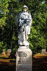 Jesse R. Stephens' Grave - Stokes County (No Talent Bum) Tags: angels graveyardstatuary graveyards gravestones gravemarkers graves graveyardangels clearspringsprimitivebaptistchurch stokescounty stokescountync cemeteries churchcemeteries
