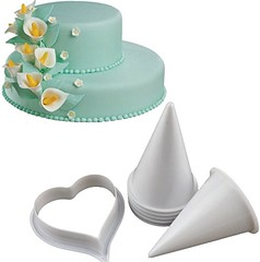 Joinor Cake Flower Making Kit Gumpaste Flowers & The Easiest Calla Lily Former Cutter Sugarcraft Decorating Set of 7 (saidkam29) Tags: cake calla cutter decorating easiest flower flowers former gumpaste joinor lily making sugarcraft