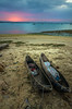 canoes at sunset - Dar es Salaam, tanzania (Russell Scott Images) Tags: sunset daressalaam tanzania canoes african africa