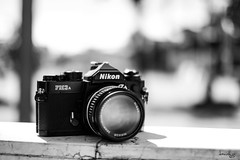 Nikon FM3a (Daniel Y. Go) Tags: fuji fujixpro2 xpro2 philippines mono bw nikon fm3a analog