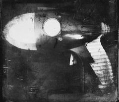 (toy) Gun-9186 (Poetic Medium) Tags: scratchcam possession gun texture toy 6x7 stilllife blackandwhite mextures blender plastic ipod