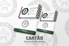 arte cartão ((keevb)) Tags: los taquitos culinária mexicana arte photoshop folder cartão visita facebook cardápio kvlyn