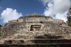 Chacchoben Mayan ruins, Q Roo, Mexico