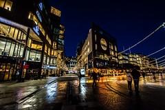 Oslo, Norway (Davide Tarozzi) Tags: oslo norway norvegia night street kongeriketnoreg kongeriketnorge