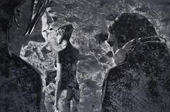 jenseits aller Kmpfe (Christian Haupt) Tags: stencil serigrafie sprayart kunst art acryl malerei painting monochrome
