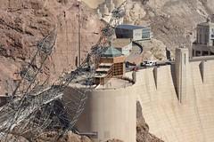 2016-10-11 Hoover Dam 3 (JanetandPhil) Tags: nikon nikkor d800 70200mmf28 20160910coloradoutahnevadaarizonavacation mikeocallaghanpattillmanmemorialbridge ushighway93 bouldercityut boulderdam hooverdam usroute93 inclinedtransmissiontowers