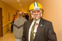 Green Bay Packers clinic visit (milwaukeeva) Tags: milwaukee va medical center veteran affairs healthcare veterans green bay packers football salute greenbay wisconsin