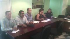 Reunión en oficinas de Tuxtepec para brindar atención al conflicto suscitado en Jalapa de Diaz referente al tema de transporte (3)
