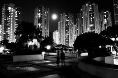 Supermoon in Shatin_HKM1482 (camera2m) Tags: architecture blackandwhite building bw city cityscape hk hongkong mond moon night nikon people scharzweiss shatin supermoon sw tree shatinnt monochrome