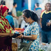 Women Shopping, Night Market Buleleng Indonesia