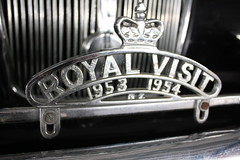 MJ 9876 (ambodavenz) Tags: daimler de36 royal tour queen elizabeth ii classic car geraldine vintage machinery museum crank up south canterbury new zealand