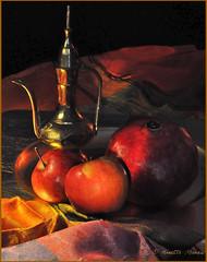 48-Ombres et lumire_AM_DSC_9900-4 (Annette_DM) Tags: pommes grenade naturemorte ombreetlumire clairobscur lumire peinture lamanirede