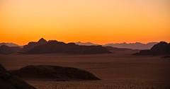Sunset in the desert Wadi Rum - Jordan (Kat-i) Tags: akaba jordanien wadirum jordan wste desert sonnenuntergang sunset nikon1v1 kati katharina