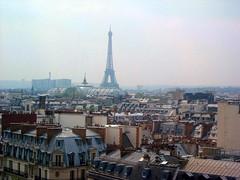 Eiffel Tower from the roof (LumenScript) Tags: eiffel tower tour paris paysage urbain urban landscape