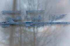 cool (M00k) Tags: antwerpen eilandjes noord 2016 window tape trees