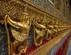 Detail Oriented (8mr) Tags: thailand thai grand palace wat king gold detail oriented kingdom temple golden beauty sony a7 daytime mourning ominous mood