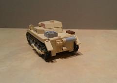 Lego Afrikakorps Panzer I Ausf A Tobruk 1941 (Shockblast1) Tags: lego wwii ww2 worldwar2 afrikakorps northafrica dak panzer tank legotank