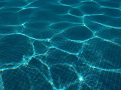 pool (curly_em) Tags: loscristianos tenerife canaryislands swimmingpool underwater blue water sunshine patterns abstract