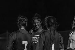 DSC_0213 (Eve Mahaney) Tags: blue mine ithaca women lacrosse lax nikon field sport college athletics team player black white bw happy smile