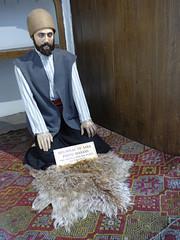 Konya - Mevlana Turbesi, museum, dining room reconstruction (10) (damiandude) Tags: rumi dervish sufi