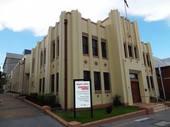 Old (Art Deco) Council Chambers building at Southport, QLD (davemail66) Tags: southport gold coast council chamber