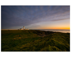Langness Lighthouse (Manxscape Photography) Tags: langness derbyhaven casltetown malew isleofman manx manxscape andrewhaddock uk peninsula sunset sky lighthouse stephenson northernlighthouseboard nikon d7100 1020