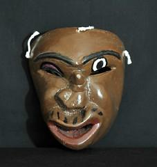 Zapotec Mask Oaxaca Mexico (Teyacapan) Tags: mascaras masks mexico mexican oaxacan huenches folkart woodcarvings crafts zapotec