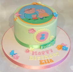 Peppa Pig Pastel Birthday