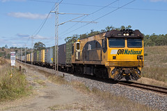 Last of the Class (PJ Reading) Tags: aurizon qr qrnational queensland rail railway train cargo goods freight locomotive qld australia transport transportation diesel northcoast ncl intermodal containers 2800 2850