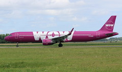 WOW Air Airbus A321WL (AMSfreak17) Tags: amsfreak17 danny de soet canon 70d ams eham amsterdam luchthaven schiphol airport vliegtuigen vliegtuig aircraft airplane jet jetphotos planespotting luchtvaart vertrek aankomst departure arrival spotter planes world of airplanes nederland the netherlands holland europe dutch taxibaan taxiway victor tfmom wow air airbus a321wl a321