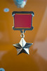 Hero of the Soviet Union (quinet) Tags: 2016 berlin ddr eastgermany gdr germany spionage stasi stasimuseum espionage espionnage medaille medal