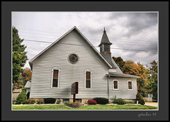 Church Clarksville MI (the Gallopping Geezer '4' million + views....) Tags: building structure smalltown backroads clarksville mi michigan canon 5d3 sigma 24105 geezer 2016 church worship religion religious faith exterior