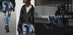 074 || but first, the beginning (teayou) Tags: sl secondlife andro male female teayou maitreya slink truth hat hair hoodie jacket dami thechapterfour waist amerie jeans ripped shoes valekoer tmd