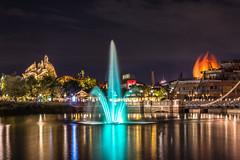 Disney Springs at night (Rodolfo Ribas) Tags: d0146432 disneysprings florida d7200 nikon landscape lightroom longexposure