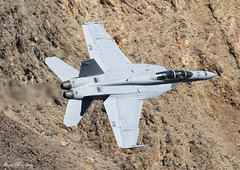 US Navy  F/A-18F Super Hornet 166973 NJ-170 (birrlad) Tags: rainbow canyon valley california usa airport airplane airplanes aviation aircraft flying flypast flyby flyover low level superjumbo jet afterburner attack fighter training boeing fa18f super hornet f18 us navy