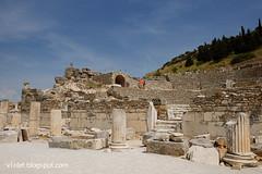 DSCF0595 ephesus1rw (Luciana Adriyanto) Tags: travel turkey turkeytrip ephesus ancientcityofephesus landscape ruins ephesusruins v1olet lucianaadriyanto