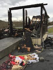 (Dragon Weaver) Tags: nfr northfork resort fire dec 2016 campground frontroyal ft royal virginia destroyed