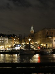 Stockholm by night (gregory.tetsios) Tags: stockholm sweden suède lumixg7