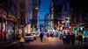 (Rob-Shanghai) Tags: shanghai china street people colour 75mm leica m240 busy shops night girl walking