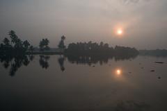 PhotAsia - Alleppey, Kersala, India (Photasia) Tags: alleppey asia india kerala photasia southindia boats canals houseboat landscape shadows sun sunrise waterways